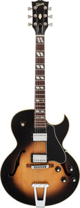 Musical Instruments:Electric Guitars, 1978 Gibson ES-175 Sunburst Semi-Hollow Body Electric Guitar,Serial #72628081....