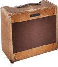 Musical Instruments:Amplifiers, PA, & Effects, 1953 Fender Deluxe Amplifier Tweed Guitar Amplifier, Serial #1495....