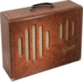 Musical Instruments:Amplifiers, PA, & Effects, 1954 Gibson GA-50T Brown Guitar Amplifier, Serial # 70226....