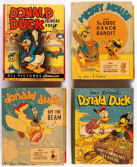 Big Little Book Walt Disney Related Group of 7 (Whitman, 1940s) Condition: Average FN.... (Total: 7 Comic Books)