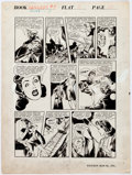 Original Comic Art:Panel Pages, Pagsilang Rey Isip Rangers of Freedom #7 Story Page 4 Original Art (Fiction House, 1942)....