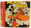 Big Little Book:Cartoon Character, Big Little Book #731 Mickey Mouse The Mail Pilot Softcover (Whitman, 1933) Condition: VG....