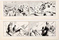 Phil Davis Mandrake the Magician Daily Comic Strip Original Art dated 6-12-59 (King Features Syndicate, 1959)