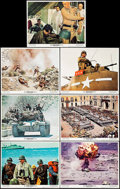 """Movie Posters:War, Patton (20th Century Fox, 1970). Lobby Cards (7) (11"""" X 14""""). War..... (Total: 7 Items)"""