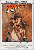 "Movie Posters:Adventure, Raiders of the Lost Ark (Paramount, 1981). Australian One Sheet(27"" X 40""). Adventure.. ..."