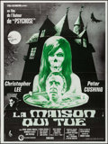 "Movie Posters:Horror, The House that Dripped Blood (Cinerama Releasing, 1971). French Grande (46.5"" X 62.5""). Horror.. ..."
