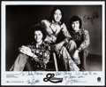 "Movie Posters:Rock and Roll, The Lettermen (Capitol, 1980s). Autographed Publicity Photo (8"" X10""). Rock and Roll.. ..."