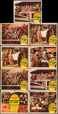 """That Gang of Mine (Monogram, 1940). Title Lobby Card & Lobby Cards (8) (11"""" X 14""""). Comedy. ... (Total: 9..."""