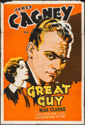 """Movie Posters:Drama, Great Guy (Grand National, 1936). One Sheet (27"""" X 41""""). Drama.. ..."""