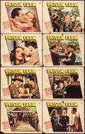 "Movie Posters:Drama, Prison Farm (Paramount, 1938). Lobby Card Set of 8 (11"" X 14""). Drama.. ... (Total: 8 Items)"