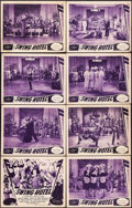 """Movie Posters:Musical, Swing Hotel (Universal, 1939). Lobby Card Set of 8 (11"""" X 14"""").Musical.. ... (Total: 8 Items)"""