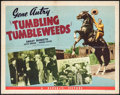 """Movie Posters:Western, Tumbling Tumbleweeds & Other Lot (Republic, R-1940s). Half Sheets (2) (22"""" X 28"""") Style A. Western.. ... (Total: 2 Items)"""