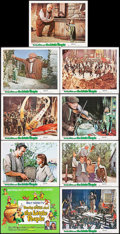 """Movie Posters:Fantasy, Darby O'Gill and the Little People (Buena Vista, R-1977). Lobby Card Set of 9 (11"""" X 14""""). Fantasy.. ... (Total: 9 Items)"""