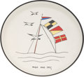 Political:Presidential Relics, John F. Kennedy: West Wing Cookie Plate....