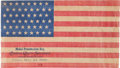 "Antiques:Decorative Americana, Spanish American War: ""Medal Presentation Day"" Flag...."