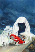 Original Comic Art:Covers, Ghost Stories #5 Cover Painting Original Art (Dell,1964)....