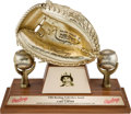 Baseball Collectibles:Others, 1982 Gold Glove Award from The Gary Carter Collection....