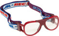 Basketball Collectibles:Others, Circa 1990 Moses Malone Game Worn Goggles Sourced from Estate Salewith Style Match. ...