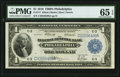 Fr. 717 $1 1918 Federal Reserve Bank Note PMG Gem Uncirculated 65 EPQ