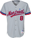 Baseball Collectibles:Uniforms, 1992 Gary Carter Game Worn Montreal Expos Jersey from the Gary Carter Collection.. ...