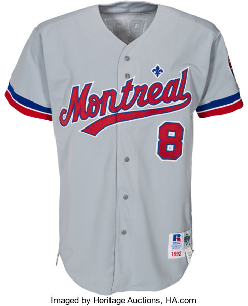 quality design 425df 29891 1992 Gary Carter Game Worn Montreal Expos Jersey from the ...
