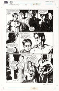 Original Comic Art:Panel Pages, Alex Maleev and Bill Reinhold Detective Comics #723 Page 16 Original Art and Alex Ross Print Group of 2 (DC, 1998)... (Total: 2 Items)