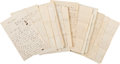 Militaria:Ephemera, Union Soldier's Letters (20) of Private George S. Youngs of Co, C, 126th New York Volunteers. ...