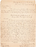 Militaria:Ephemera, [James A. Garfield]. Manuscript Copy of General Orders No. 23 Issued by James A. Garfield Sending Congratulation on a Vict...