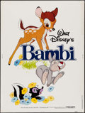 "Movie Posters:Animation, Bambi & Other Lot (Buena Vista, R-1982). Posters (2) (30"" X 40""). Animation.. ... (Total: 2 Items)"