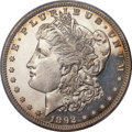 Proof Morgan Dollars, 1892 $1 PR64 Cameo PCGS....