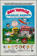 "Movie Posters:Animation, Bon Voyage, Charlie Brown (Paramount, 1980). One Sheet (27"" X 41"") Charles Shultz Artwork. Animation.. ..."