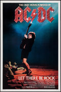 "Movie Posters:Rock and Roll, AC/DC: Let There Be Rock (Warner Brothers, 1982). One Sheet (27"" X 41""). Rock and Roll.. ..."