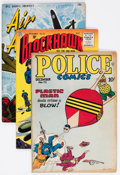 Golden Age (1938-1955):Miscellaneous, Comic Books - Assorted Golden Age Comics Group of 6 (Various Publishers, 1940s-50s) Condition: Average VG.... (Total: 6 Comic Books)
