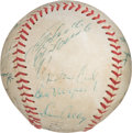 Autographs:Baseballs, 1972 Pittsburgh Pirates Team Signed Baseball. . ...