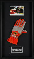 Miscellaneous Collectibles:General, 2000's Ralf Schumacher Race Worn Glove....