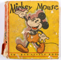 Big Little Book:Cartoon Character, Big Little Book #717 Mickey Mouse Second Edition (Whitman, 1933)Condition: FR/GD....