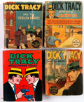 Big Little Book:Miscellaneous, Big Little Book Dick Tracy Related Group of 7 (Whitman,1930s-40s).... (Total: 7 Comic Books)