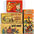 Big Little Book:Miscellaneous, Big Little Book Larger Format Group of 4 (Whitman, 1930s-40s)....(Total: 4 Comic Books)