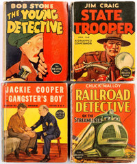Big Little Book Crime Related Group of 12 (Whitman, 1930s-40s) Condition: Average FN.... (Total: 12 Comic Books)