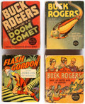 Big Little Book:Miscellaneous, Buck Rogers/Flash Gordon Big Little Book Group of 6 (Whitman,1933-46) Condition: Average VG.... (Total: 6 Items)