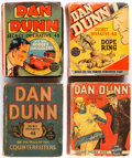Big Little Book:Miscellaneous, Dan Dunn Big Little Book Group of 6 (Whitman, 1934-40) Condition:Average GD.... (Total: 6 Items)