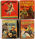 Big Little Book:Miscellaneous, Big Little Book Western Group of 10 (Whitman, 1930s-40s) Condition:Average GD.... (Total: 10 Comic Books)
