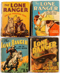 Big Little Book:Miscellaneous, Big Little Book Lone Ranger Related Group of 5 (Whitman, 1930s-40s)Condition: Average GD/VG.... (Total: 5 Comic Books)