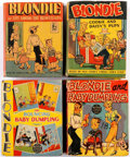 Big Little Book:Miscellaneous, Big Little Book Blondie Related Group of 7 (Whitman, 1940s)Condition: Average VG.... (Total: 7 Comic Books)