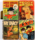 Big Little Book:Miscellaneous, Big Little Book Kid Related Group of 13 (Whitman, 1930s-40s)Condition: Average GD.... (Total: 13 Comic Books)