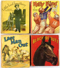 Big Little Book:Miscellaneous, Big Little Book Group of 41 (Whitman, 1930s-40s) Condition: AverageFN.... (Total: 41 Comic Books)