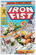 Bronze Age (1970-1979):Superhero, Iron Fist #14 (Marvel, 1977) Condition: VG+....