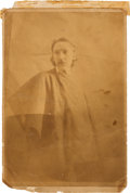 Autographs:Authors, Robert Louis Stevenson Cabinet Photo Signed ... (Total: 2 )