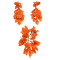 Estate Jewelry:Suites, Victorian Carved Coral, Gold Jewelry Suite. . ... (Total: 2 Items)