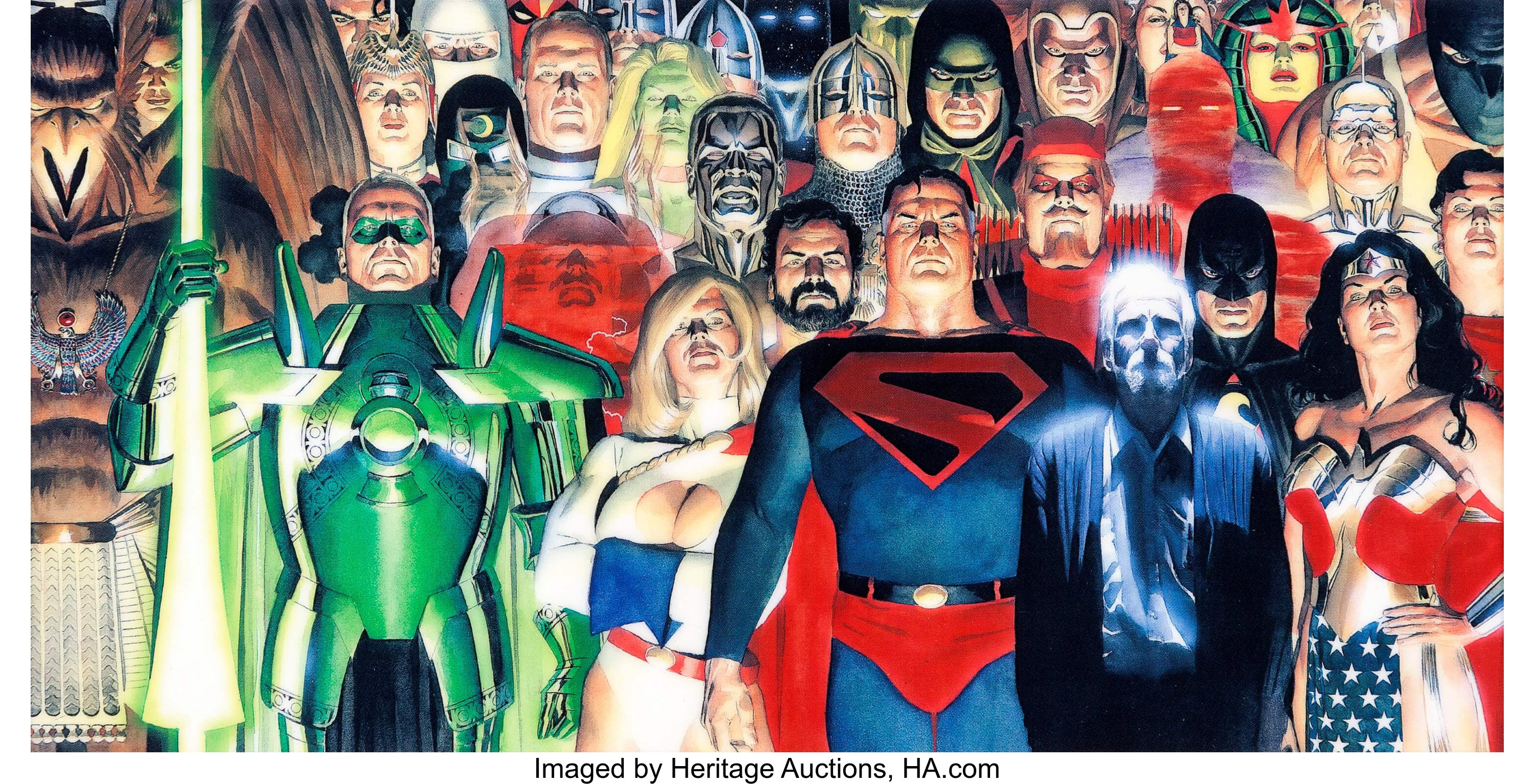 Alex Ross Kingdom Come: Truth and Justice Limited Edition Lithocel | Lot  #12640 | Heritage Auctions